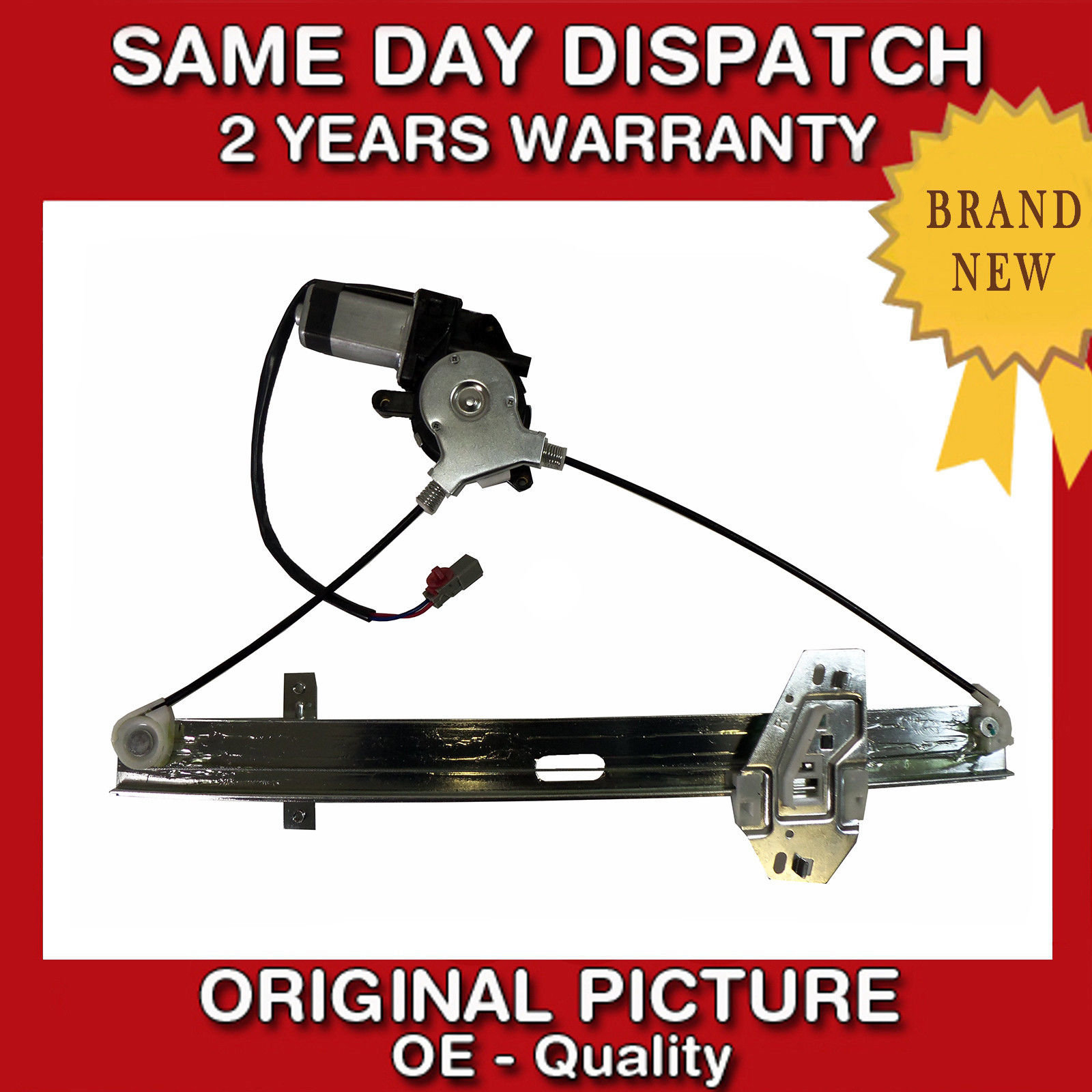 Honda accord 1998 02 front right side electric window for 1998 honda accord coupe window regulator